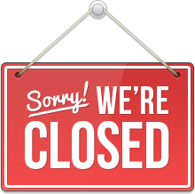We´re Closed